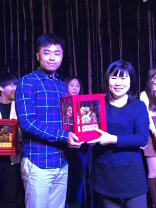 106年 - 江振甫 榮獲翰霖文教機構優良老師獎
