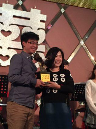 107年 - 王靖誠 榮獲翰霖文教機構優良老師獎