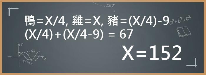 數學題目解法2
